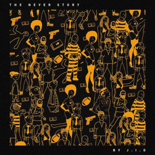 Dreamville-J.I.D-The-Never-Story-album-cover-art